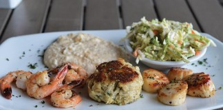 Acme Lowcountry Kitchen, meals with fresh, local ingredients
