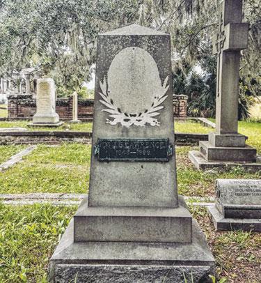 Dr. Joseph S. Lawrence's grave site.