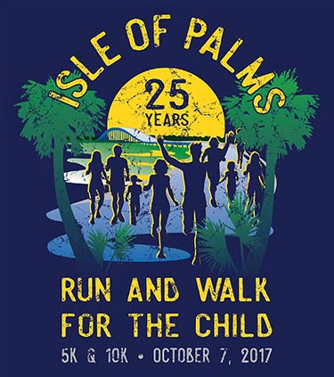 Isle of Palms Connector Run and Walk For the Child Winning Design